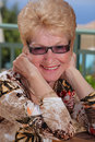 Beautiful senior woman Royalty Free Stock Images