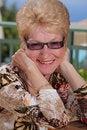 Beautiful senior woman Royalty Free Stock Images