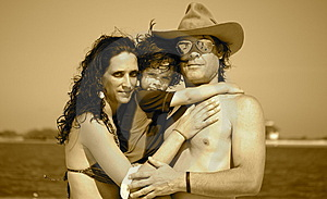 A Family On Adventure Stock Image - Image: 5650281