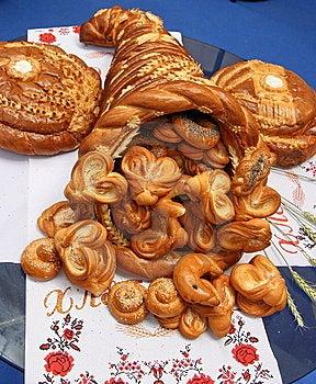 Estive Bread Horn Of Plenty 1 Stock Photo - Image: 5651060