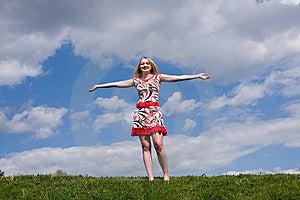 Härlig Flicka Arkivbild - Bild: 5654632
