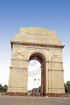 India Gate Stock Image - Image: 5654941
