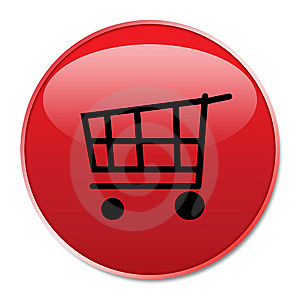 Web Shopping Button Royalty Free Stock Photo - Image: 5656825