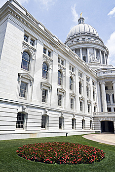Madison, Wisconsin - State Capitol Royalty Free Stock Photo - Image: 5658225