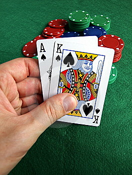 To Take A Gamble Royalty Free Stock Images - Image: 5662199