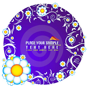 Floral Banner Royalty Free Stock Photo - Image: 5668625