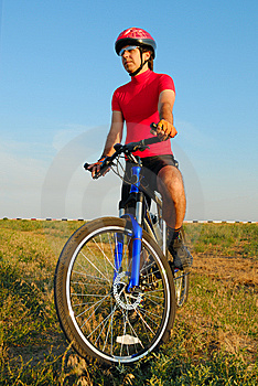 Fellow cycling Stock Photos