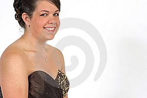 Smiling Young Woman Royalty Free Stock Image - Image: 5675306