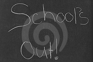 School's Out! Royalty Free Stock Images