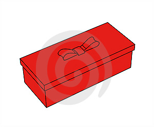 Little Red Gift Box Royalty Free Stock Photo - Image: 5678595