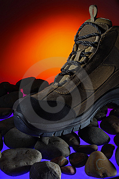 Adventure Boot Royalty Free Stock Photography - Image: 5679437