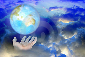 Brighten Planet Royalty Free Stock Photography - Image: 5680707
