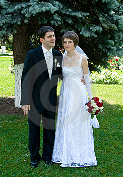 Young Couple Married Stock Image - Image: 5681991