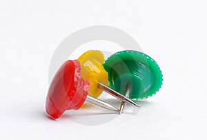 Thumbtacks Royalty Free Stock Photo - Image: 5682785