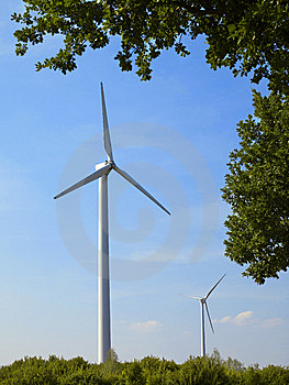 Windmills 6 Stock Photo - Image: 5683330