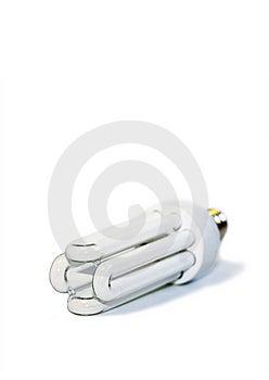 White Bulb Isolated On White Royalty Free Stock Images - Image: 5683409