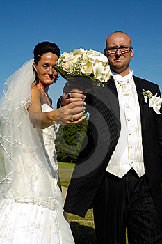 Wedding Bouquet Royalty Free Stock Photography - Image: 5686497