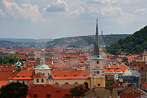 Tiled Red Roofs Of Old Town. Stock Photo - Image: 5687350