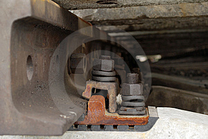 Bonding Rails Stock Photos - Image: 5690693