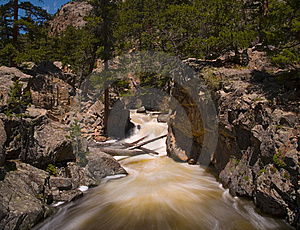 Rapids In The Rocky Mountains Stock Photo - Image: 5697880
