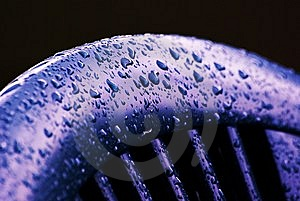 Waterdrops On A Chair Royalty Free Stock Photos - Image: 5699978