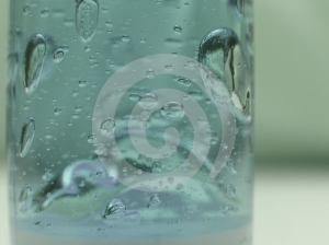 Cool Blue Bubbles Royalty Free Stock Photos - Image: 570708