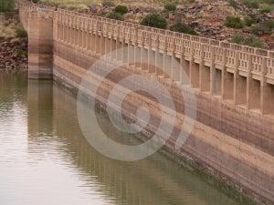 Dam Wall Stock Photography - Image: 575642