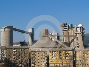 Cement Factory Royalty Free Stock Photos - Image: 579478
