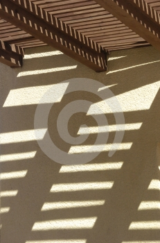 Shadows On The Wall Royalty Free Stock Photography - Image: 579777