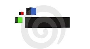 Logogegenstand Lizenzfreies Stockfoto - Bild: 5700375