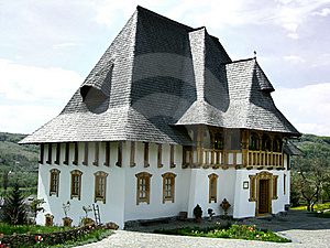 Barsana Monastery In Maramures Royalty Free Stock Images - Image: 5705159