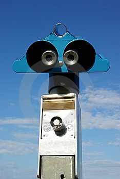 Coin-operated Binoculars Royalty Free Stock Photography - Image: 5707917