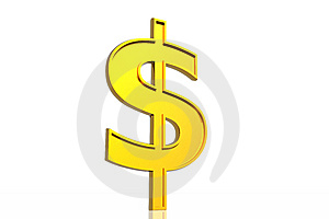 Dollar Symbol Royalty Free Stock Photography - Image: 5709007