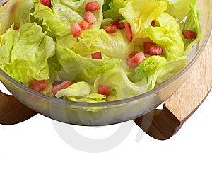 Vegetable food - fresh salad