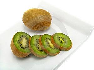 Cut Apart Kiwi Stock Photo - Image: 5711590