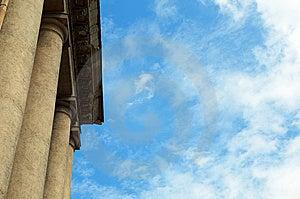 Column Construction Royalty Free Stock Photos - Image: 5713188