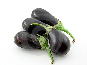 Aubergines Photos stock - Image: 5717453