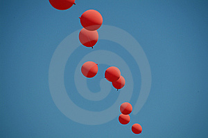 Red Balloons2 Royalty Free Stock Photo - Image: 5721055