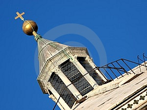 Glimpse Of Skylight Stock Images - Image: 5724284