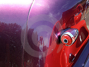 Purple Car Royalty Free Stock Photography - Image: 5729267