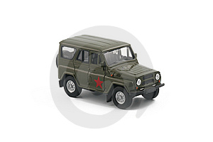 Soviet 4x4 Vehicle Isolated Stock Images - Image: 5732414