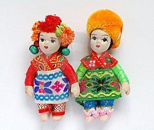 Dolls Royalty Free Stock Photography - Image: 5734767
