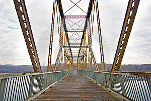Footbridge Stock Images - Image: 5736644