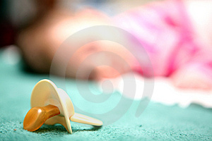 Pacifier Stock Image - Image: 5736861