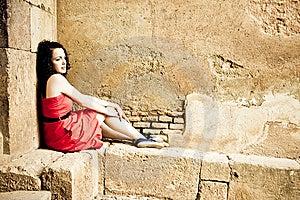Sad Woman Stock Image - Image: 5739151