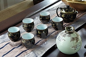 Tea Set Royalty Free Stock Image - Image: 5742486