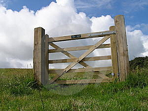 Solitary Gateway Royalty Free Stock Photos - Image: 5748828