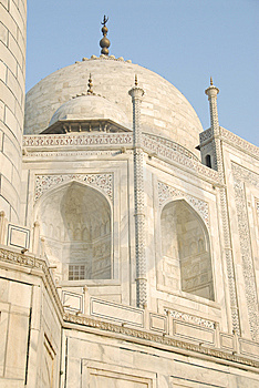 Taj Mahal Dome Stock Photos - Image: 5749593