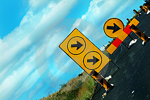 Detour Royalty Free Stock Photos - Image: 5750328