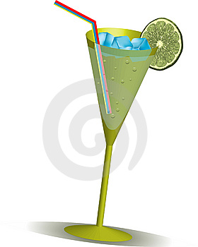 Realistic Cocktail Stock Photo - Image: 5750690